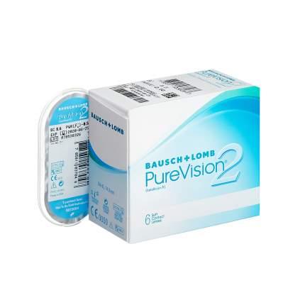 Контактные линзы PureVision 2 6 линз +5,00