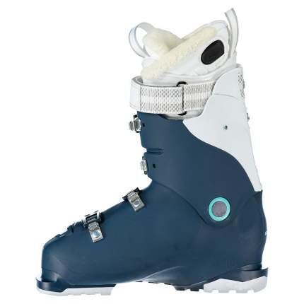 Горнолыжные ботинки Salomon X Pro 80 W Custom Heat Connect 2019, petrol blue/white, 26.5