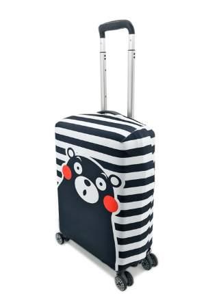 Чехол для чемодана Черно-Белое  S (ручная кладь)