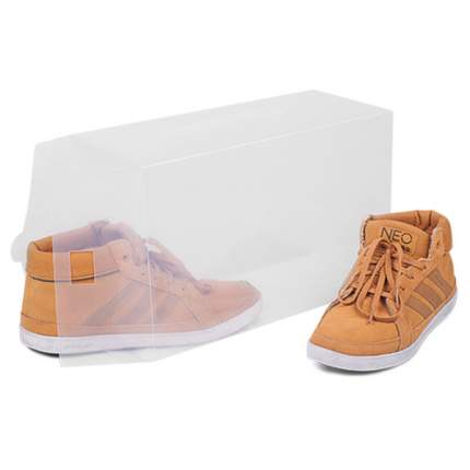 Набор прозрачных коробок для хранения мужских туфель, 3 шт, TT3421