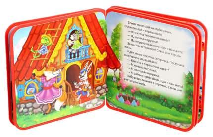 Книжка Сказка теремок, Evа, 10 Страниц Буква-Ленд