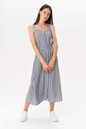 Платье женское ICHI 20109059 голубое S