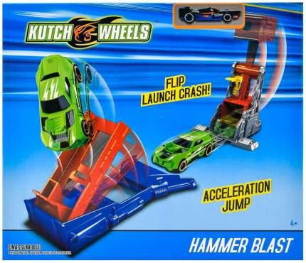 "Автотрек ""Kutch Wheels. Пусковая установка"", 1 машинка"