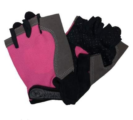 Перчатки женские,спортивные HOTLLR 2G4438  М розовые