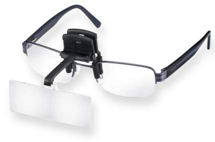 Лупа-клип Eschenbach laboCLIP бинокулярная с креплением на очки 74.5 х 28 мм 2.5х
