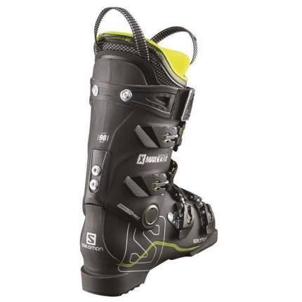 Горнолыжные ботинки Salomon X Max 130 2018, black/metablack/acide, 26.5