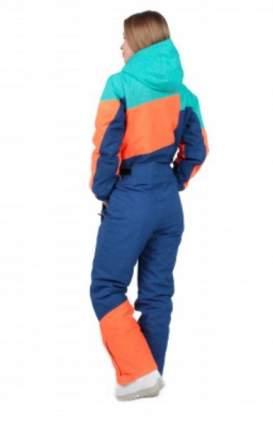 Комбинезон Qluck Tricolor W171015 green blue orange, XL
