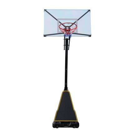 Баскетбольная мобильная стойка DFC STAND54T 136x80см поликарбонат, НОВИНКА