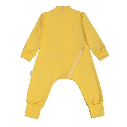 Комбинезон-пижама Bambinizon Желтый ЛКМ-БК-ЛИМ р.56
