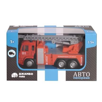Машинка металлическая Автопанорама Пожарная служба, красная, 1200092