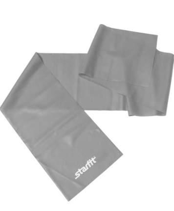 Эспандер ленточный для йоги ES-201, 1200х150х0,55 мм, серый