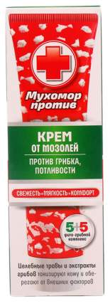 Крем Венец Сибири мухомор против мозолей, грибка, потливости 75 мл