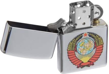 Зажигалка Zippo №250 Герб Ссср High Polish Chrome