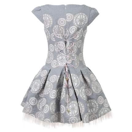 Платье Selina Style Серый р.140