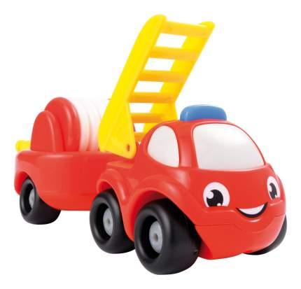 Машинка Smoby Vroom Planet Мини грузовик пожарный+прицеп