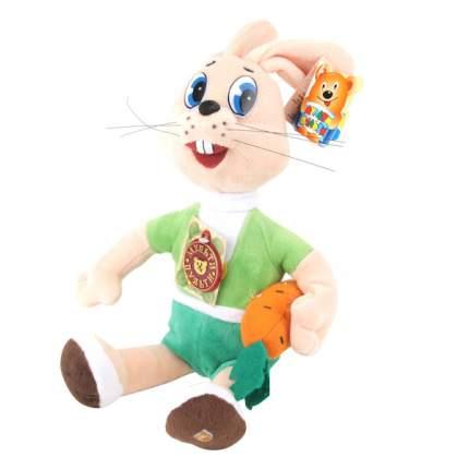 Мягкая игрушка Мульти-Пульти Заяц с морковкой (ну погоди) озвученная 25 см