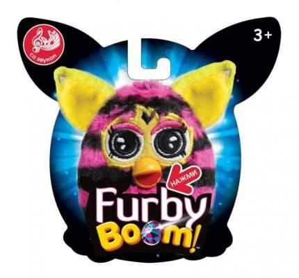 Мягкая игрушка 1 TOY Furby в полоску плюшевая игрушка 11 см со звуком, блистер