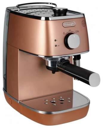 Рожковая кофеварка DeLonghi ECI341.CP Brown