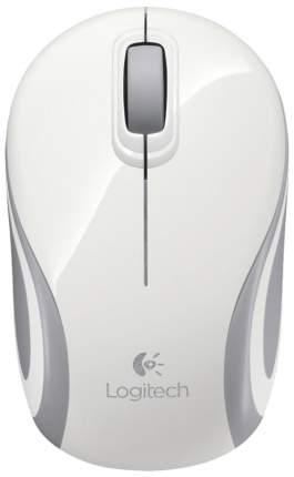 Беспроводная мышь Logitech M187 White (910-002740)