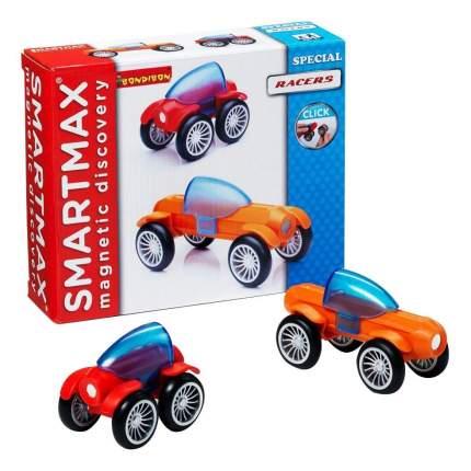 Магнитный конструктор smartmax/ Bondibon специальный (special) набор: гонщики