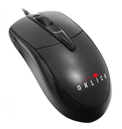 Проводная мышка OKLICK 125M Black