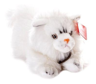 Мягкая игрушка Aurora 11-444 Кошка Персидская Белая, 25 см