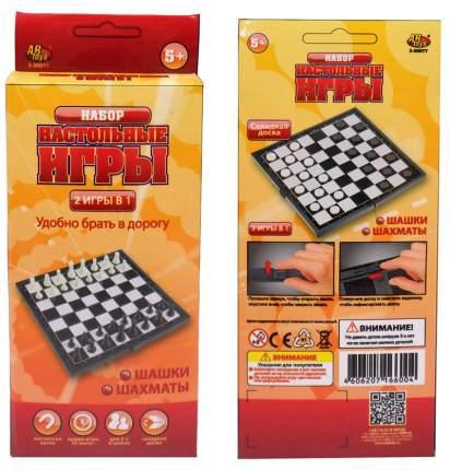 Шахматы и шашки магнитные s-00077