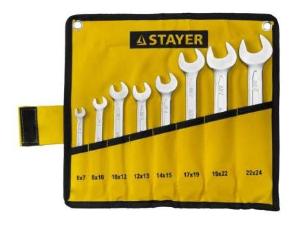 Рожковый ключ Stayer 27035-H8