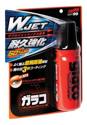 """Антидождь Soft99 Glaco """"W"""" Jet Strong для стекол, 180 мл"""