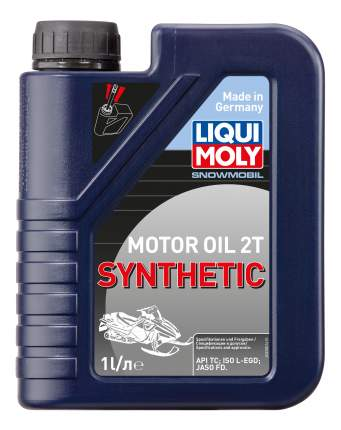 Синтетическое моторное масло для снегоходов Snowmobil Motoroil 2T Synthetic TC