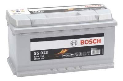 Аккумулятор автомобильный автомобильный Bosch S5 Silver Plus 0 092 S50 130 100 Ач