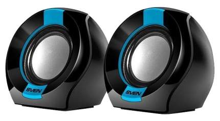 Колонки для компьютера Sven 150 2x2.5 Вт черно-синие