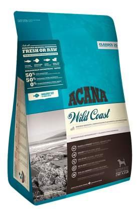 Сухой корм для собак ACANA Classics Wild Coast, рыба, овес, 2кг
