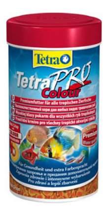 Корм для декоративных рыб Tetra PRO Colour, для улучшения окраса, чипсы, 250 мл