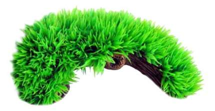 Грот для аквариума МЕЙДЖИНГ АКВАРИУМ Пещера травяная, полиэфирная смола, 15х7х7 см