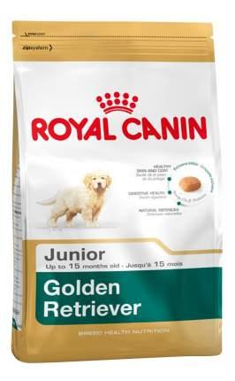 Сухой корм для щенков ROYAL CANIN Golden Retriever Junior, птица, 12кг