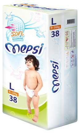 Подгузники Mepsi Soft&breathing L (9-16 кг), 38 шт.