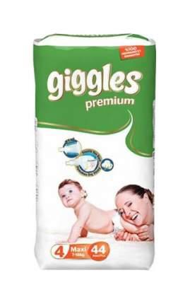 Подгузники Giggles Premium Maxi 4 (7-18 кг), 44 шт.