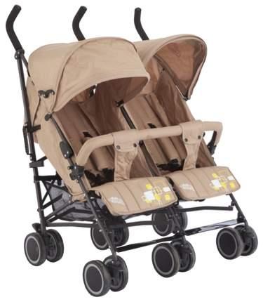 Коляска для двойни и погодок Baby Care Citi Twin Khaki