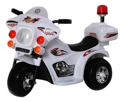 Электромотоцикл Rivertoys 998 белый
