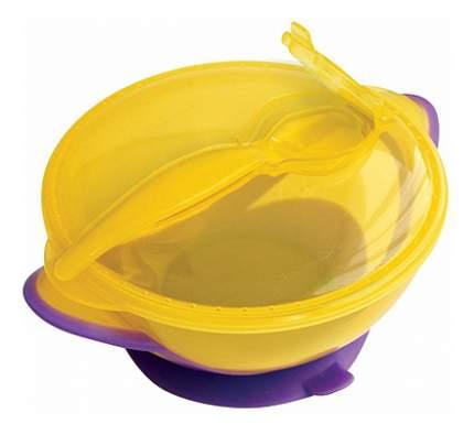 Тарелка детская Lubby Классика с ложкой и присоской