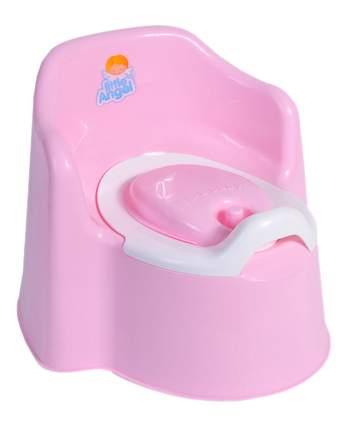 Горшок детский Plastic Centre Little King розовый
