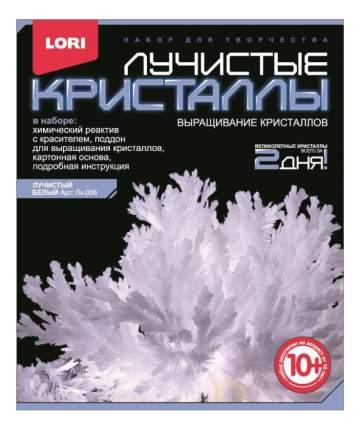 Набор для выращивания кристаллов Lori Лучистые Кристаллы белый
