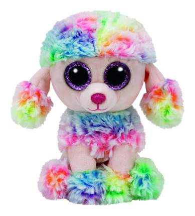 Мягкая игрушка TY Beanie Boos Щенок Пудель RAINBOW, 15 см