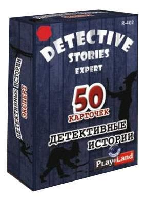 Семейная настольная игра Play Land Детективные истории Эксперт R-402