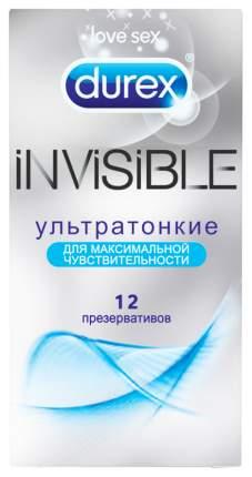 Презервативы Durex Invisible 12 шт.