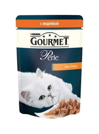 Влажный корм для кошек Gourmet Perle, индейка, 85г