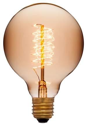 Лампа накаливания E27 40W шар золотой 053-655