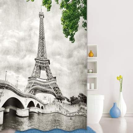 Штора для ванной IDDIS Paris Days 541P18Ri11