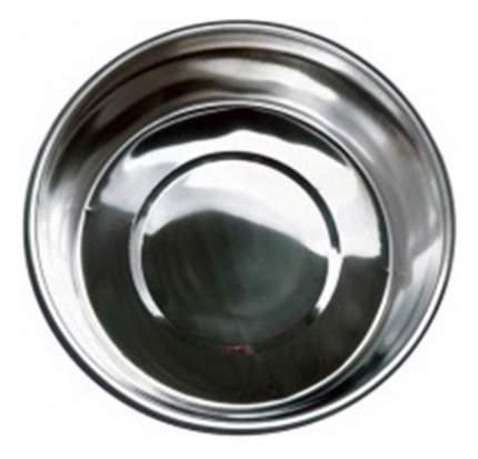 Одинарная миска для собак Papillon, сталь, серебристый, 4 л